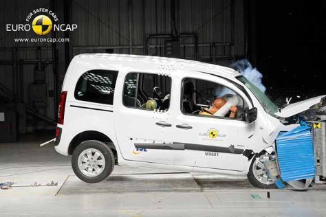 Euro NCAP-Crashtest April 2013