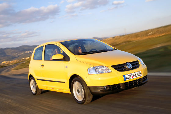 VW Fox  Sieger ADAC Pannenstatistik