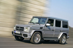 Mercedes G-Modell: Produktion