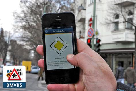 App vom Bundesverkehrsministerium