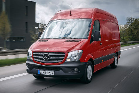 Mercedes Sprinter (Facelift 2013)