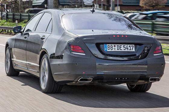 Mercedes S-Klasse (2013): Testfahrt