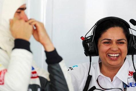 Noch hat Monisha Kaltenborn Geduld mit Formel-1-Rookie Esteban Gutierrez