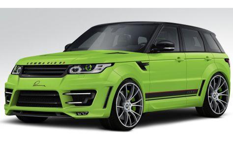 Range Rover Sport: Tuning