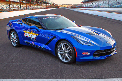 Corvette Stingray C7 Pace Car
