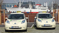 Nissan Leaf als E-Taxi