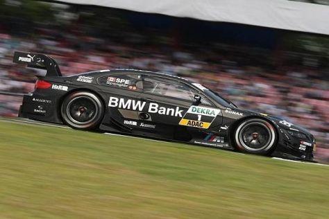 Bruno Spengler quälte sich über 30 Runden lang mit dem Schnitzer-M3