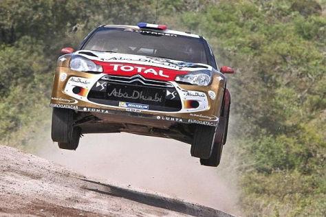Sebastien Loeb gewann zum achten Mal die Rallye Argentinien