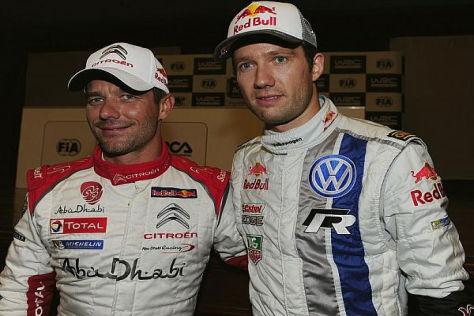 Sebastien Loeb und Sebastien Ogier zeigten viel Respekt füreinander