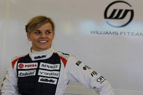 Mit Ellenbogen bis in die Formel 1 - Susie Wolff kämpft gegen Klischees