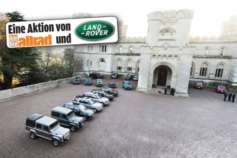 Land-Rover-Fahrsicherheitstraining