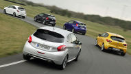 Polo GTI, 208 GTi, Clio RS, Fiesta ST, Corsa OPC: Test