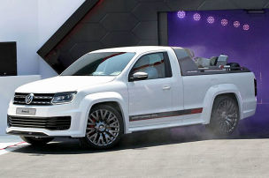 VW Amarok Power-Pick-up: W�rthersee 2013