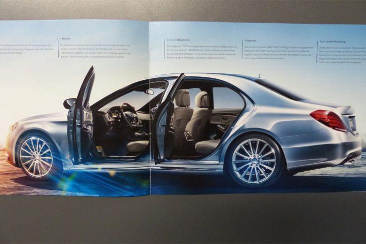Mercedes S-Klasse (W222): Modellauto
