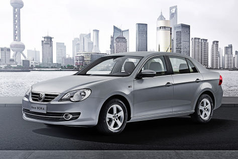 VW New Bora für China
