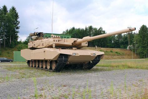Sträkster Panzer noch stärker