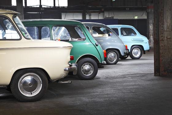 Saporpshez 965A, Fiat 600D, Innocenti Mini 850, NSU Prinz 4L
