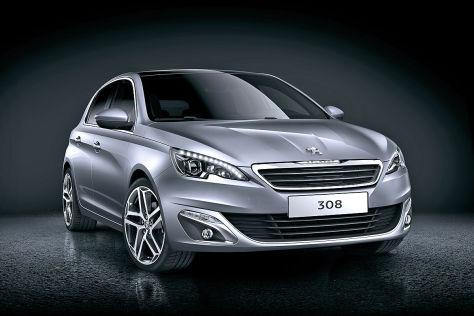 Der neue Peugeot 308: 2013