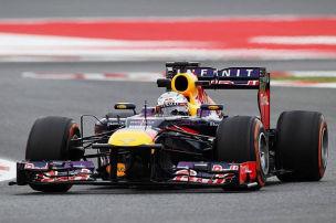 Der Nachmittag in Barcelona: Vettel vor Alonso und Webber