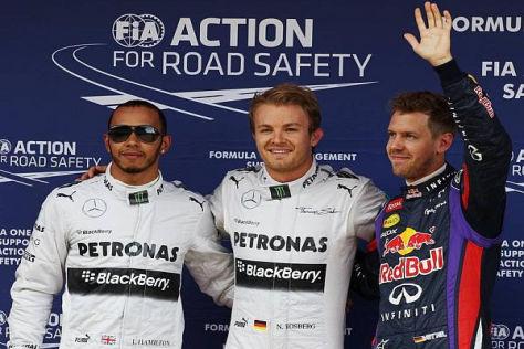 Nico Rosberg sicherte sich die Pole-Position zum Spanien-Grand-Prix
