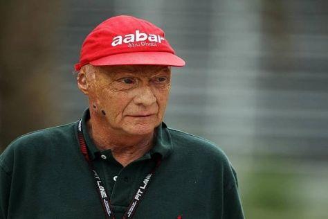 Niki Lauda freut sich über das Erreichte, weiß aber, dass es sehr schwer wird