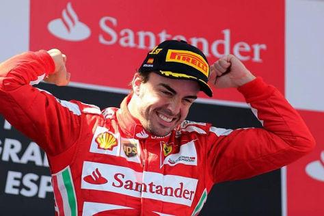 Fernando Alonso kann aufatmen: Sein Sieg in Barcelona ist offiziell bestätigt