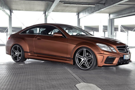 Mercedes-Benz E-Klasse Coupé: Tuning von Prior Design