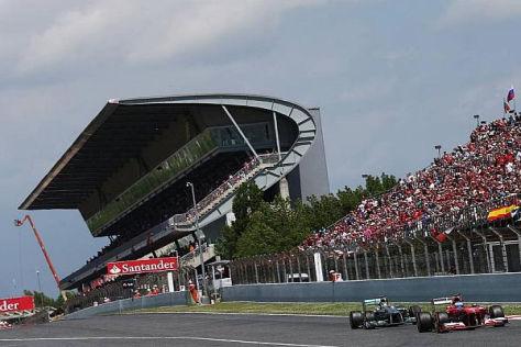 Barcelona galt jahrelang als Referenzstrecke der Formel 1
