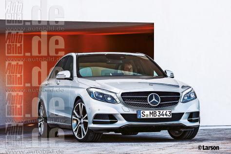Mercedes C-Klasse (2014): Vorschau