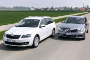 Video: Skoda Octavia und Mercedes C 200
