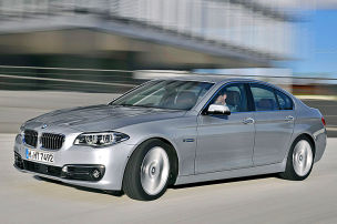 BMW 5er und 5er Touring: Facelift 2013