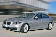BMW 5er: Facelift 2013