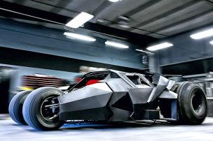 Batmobil für die Straße