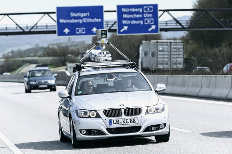 Bosch testet selbstfahrendes Auto