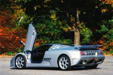 Bugatti EB 110 SS: Tuning von Brabus