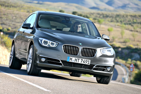BMW 5er GT Facelift 2013
