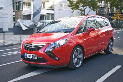 Opel Zafira-Produktion