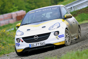 Adam als Rallye-Car