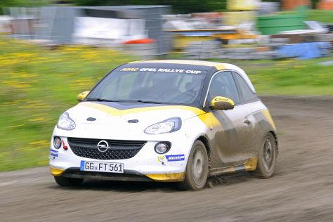 Opel Adam für ADAC Opel Rallye Cup