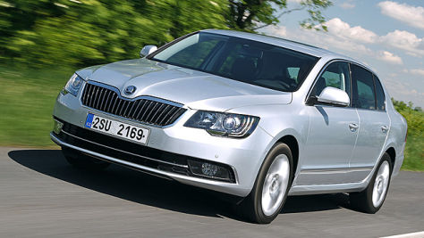 Skoda Superb Facelift: Fahrbericht