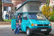 Video: VW T4 California
