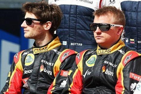 Grosjean und Räikkönen freuen sich auf den Großen Preis von Monaco