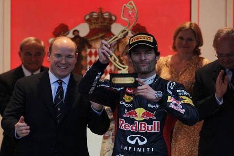 Im vergangenen Jahr gewann Mark Webber den Großen Preis von Monaco