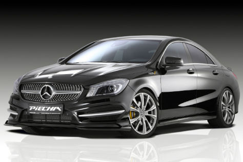 mercedes benz cla 250 sport tuning von piecha. Black Bedroom Furniture Sets. Home Design Ideas