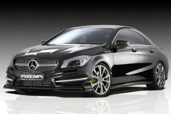 Mercedes benz cla 250 sport tuning von piecha for Benz sport katalog