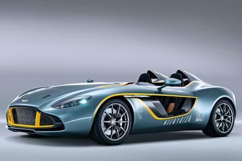 Aston Martin CC 100 Speedster Concept Seitenansicht
