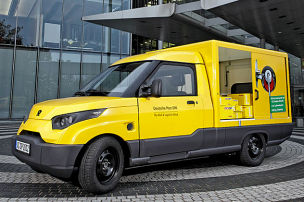 Elektrotransporter StreetScooter f&uuml;r DHL