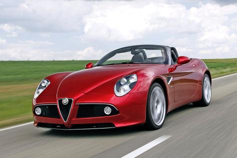 Rückruf Alfa Romeo 8C, Maserati Quattroporte und Granturismo