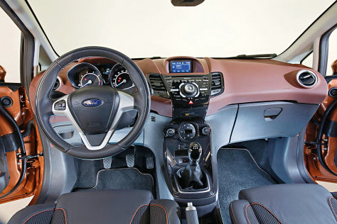 Ford Fiesta Facelift Cockpit 2013