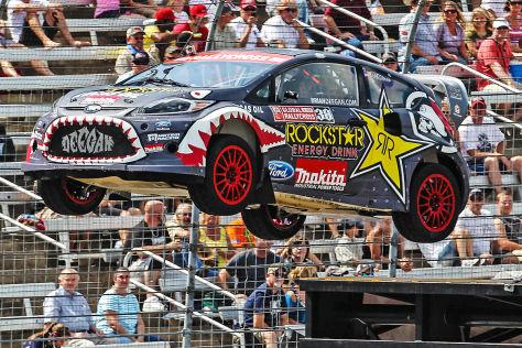 Ford Fiesta Gymkhana Stunt